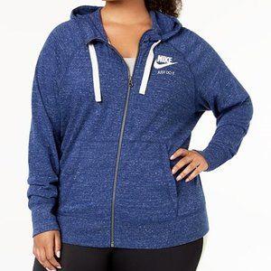 NIKE Plus size sportswear vintage women's hoodie